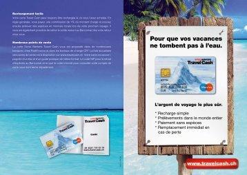 Pour que vos vacances ne tombent pas à l'eau. - Swiss Bankers