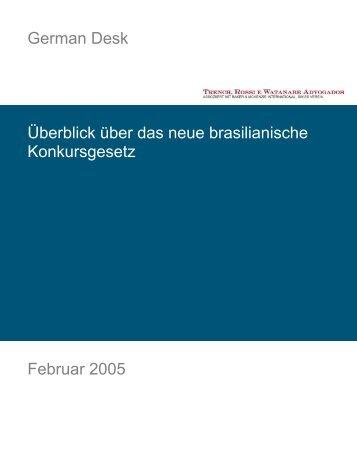 German Desk Überblick über das neue brasilianische ...