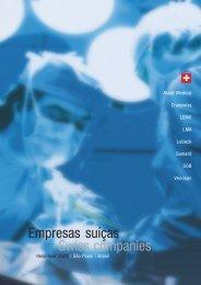 Empresas suíças Swiss companies - Swisscam