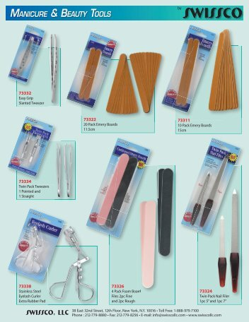 Swissco Manicure & Beauty Tools.indd