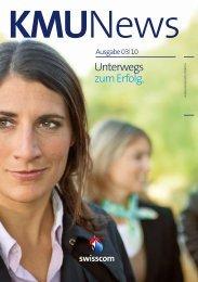 Unterwegs zum Erfolg. - Swisscom