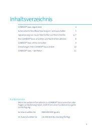Inhaltsverzeichnis - Swisscom