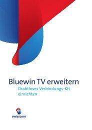 Bluewin TV erweitern - Swisscom