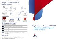 Ampliamento Bluewin TV / DSL - Swisscom