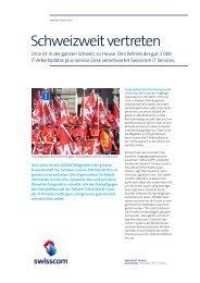 Success Story Unia - Swisscom