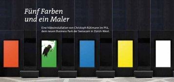 Fünf Farben und ein Maler - Swisscom