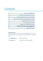 Contents - Swisscom