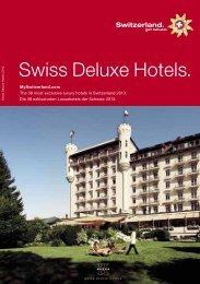 Swiss Deluxe Hotels.