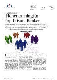 Schweizer Bank - Swiss Finance Institute