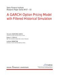 A GARCH Option Pricing Model with Filtered Historical Simulation