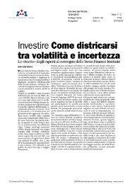 tra volatilità e Incertezza - Swiss Finance Institute