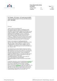 Finanz Nachrichten Online 03.10.2013 Seite 1 / 3 Auflage/ Seite 0 ...