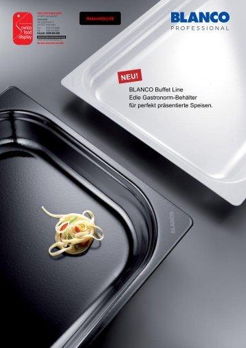 Prospekt Buffet Line - sfd - swiss food display