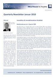 1. edition 2010 - Swiss Finance & Property AG
