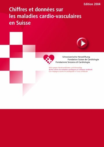 Chiffres et données sur les maladies cardio-vasculaires en Suisse
