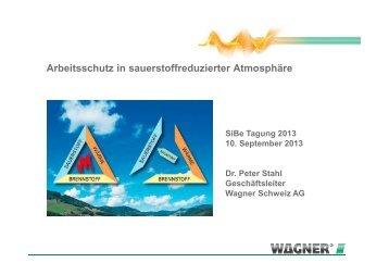 Arbeitsschutz in sauerstoffreduzierter Atmosphäre - Swissi