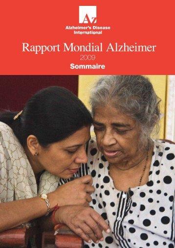 Rapport Mondial Alzheimer - SwissInfo