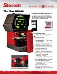 The New HB400 - Swiss Instruments Ltd
