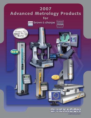 2007 Advanced Metrology Products - Swiss Instruments Ltd