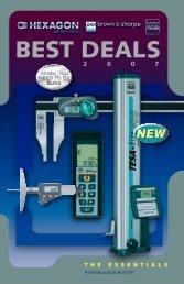 BEST DEALS - Swiss Instruments Ltd