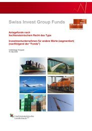 Swiss Invest Group Funds