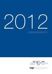 Jahresbericht des SIG 2012 - Schweizerischer Israelitischer ...