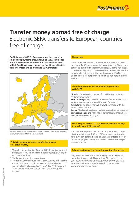 Transfer Money Abroad Free Of Charge