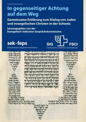 In gegenseitiger Achtung auf dem Weg sek · feps - Schweizerischer ...