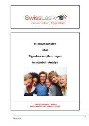 Eigenhaarbehandlungen - Swisslasik