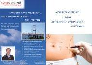 ÄSthEtiSchEr opErationEn - Swisslasik