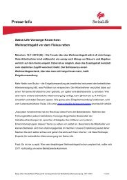 Swiss Life Vorsorge-Know-how: Weihnachtsgeld vor dem Fiskus retten