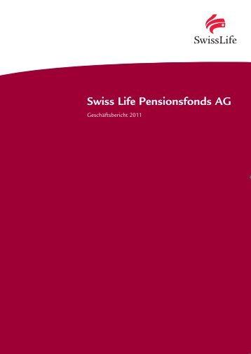 Geschäftsbericht 2011 - Swiss Life