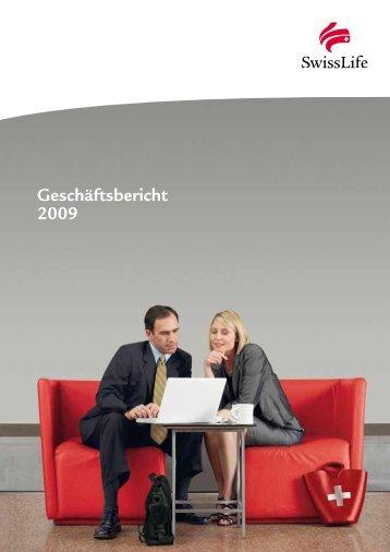Geschäftsbericht 2009 - Swiss Life