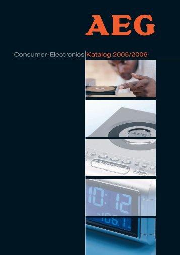 Consumer-Electronics Katalog 2005/2006 - swissM.ch