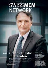 Ausgabe 4/2013 - Swissmem