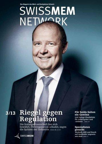 Ausgabe 3/2013 - Swissmem