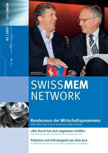 Ausgabe 1/2007 - Swissmem