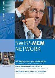 Ausgabe 2/2009 - Swissmem