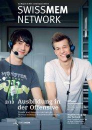 Ausgabe 2/2013 - Swissmem