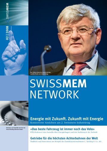 Ausgabe 2/2008 - Swissmem