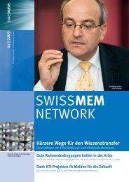 Ausgabe 1/2009 - Swissmem
