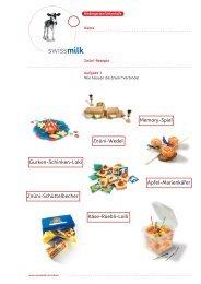 Znüni Rezepte - Swissmilk