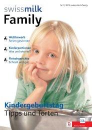 Kindergeburtstag Tipps und Torten - Swissmilk