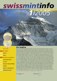 2005/1 Die Jungfrau (PDF, 407Kb) - Swissmint