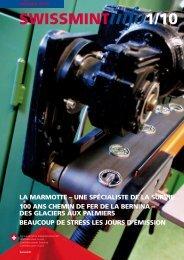 La marmotte - une spécialiste de la survie (PDF, 618Kb) - Swissmint