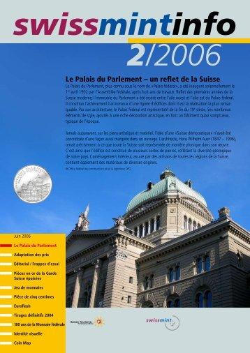 Le Palais du Parlement – un reflet de la Suisse (PDF ... - Swissmint