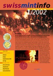2002/1 Escalade (PDF, 356Kb) - Swissmint
