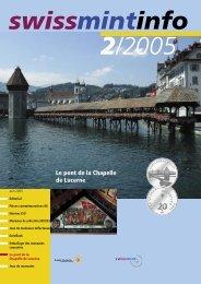 Le pont de la Chapelle de Lucerne (PDF, 420Kb) - Swissmint