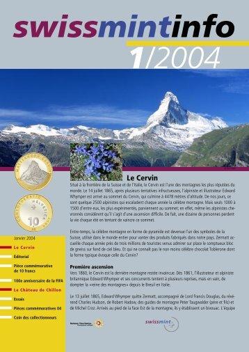2004/1 - Le Cervin (PDF, 380Kb) - Swissmint