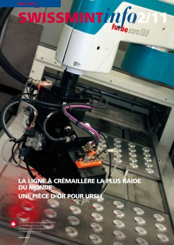 La ligne à crémaillère la plus raide du monde (PDF, 657 ... - Swissmint